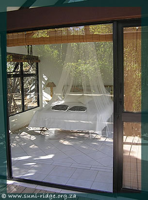 "The honeymoon suite at Leopard Walk Lodge ""Secrets of the Forest"""