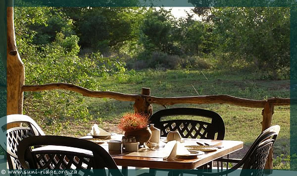 Leopard Walk Lodge is situated within the Suni-Ridge Sand Forest Park wildlife nature reserve